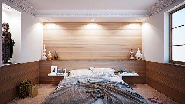 Ingatlan lakás hálószoba